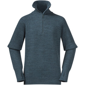 Bergans Ulriken Wool Jumper Jugend forest frost